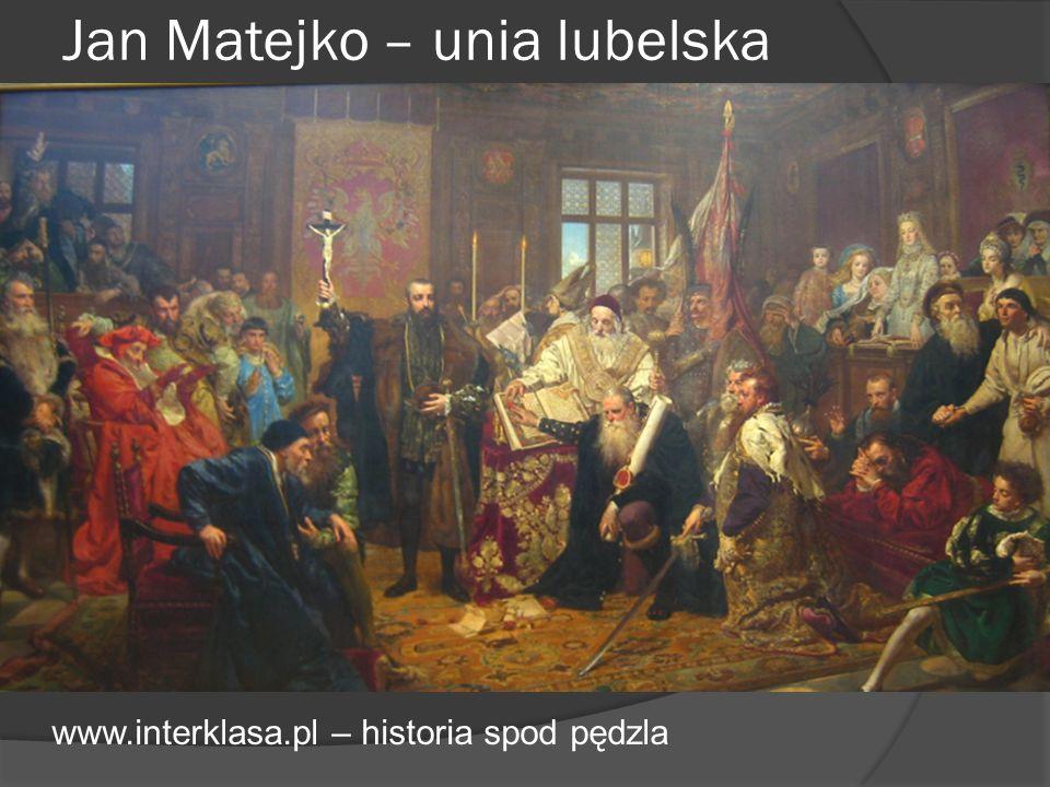Jan Matejko – unia lubelska