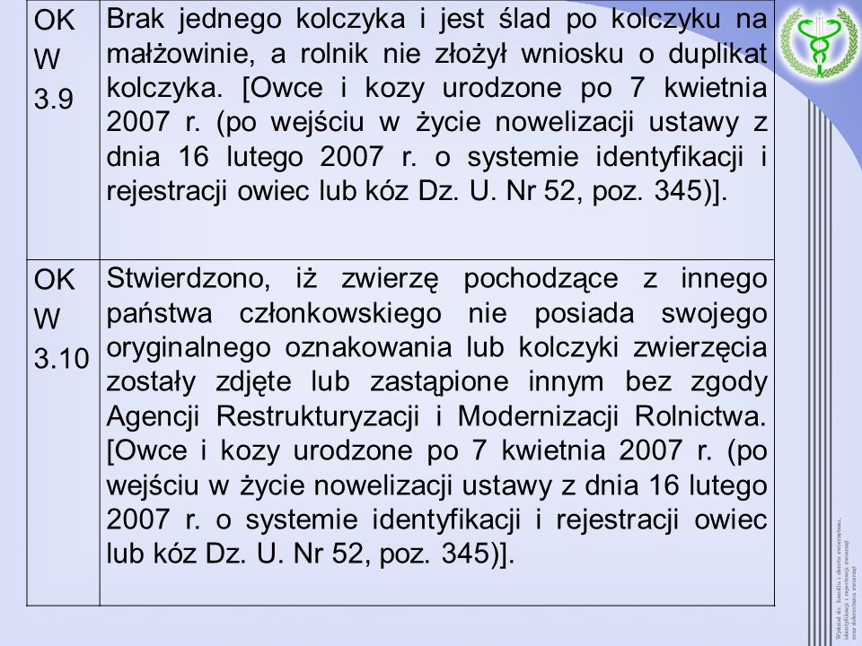 OK W 3.9