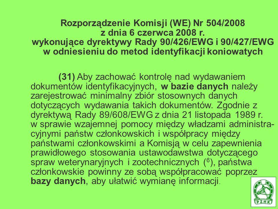 Rozporządzenie Komisji (WE) Nr 504/2008