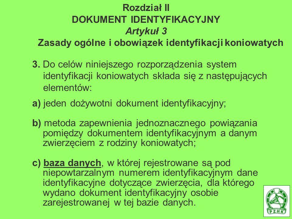DOKUMENT IDENTYFIKACYJNY