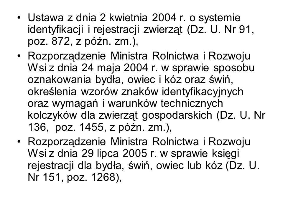 Ustawa z dnia 2 kwietnia 2004 r