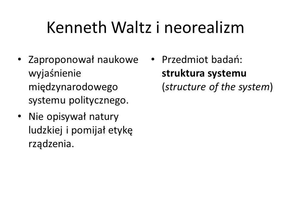 Kenneth Waltz i neorealizm