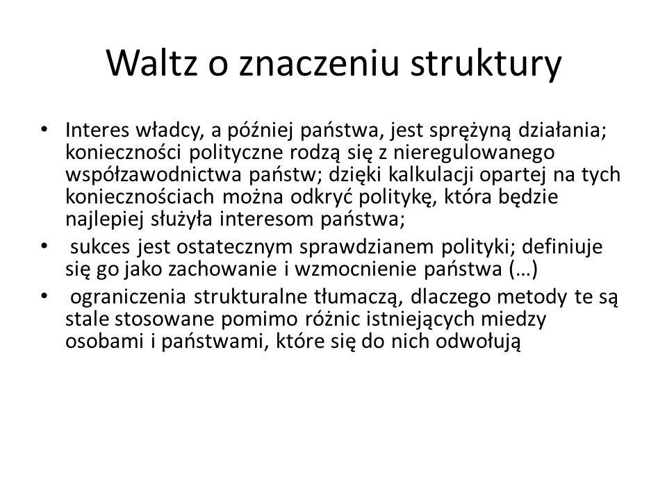 Waltz o znaczeniu struktury