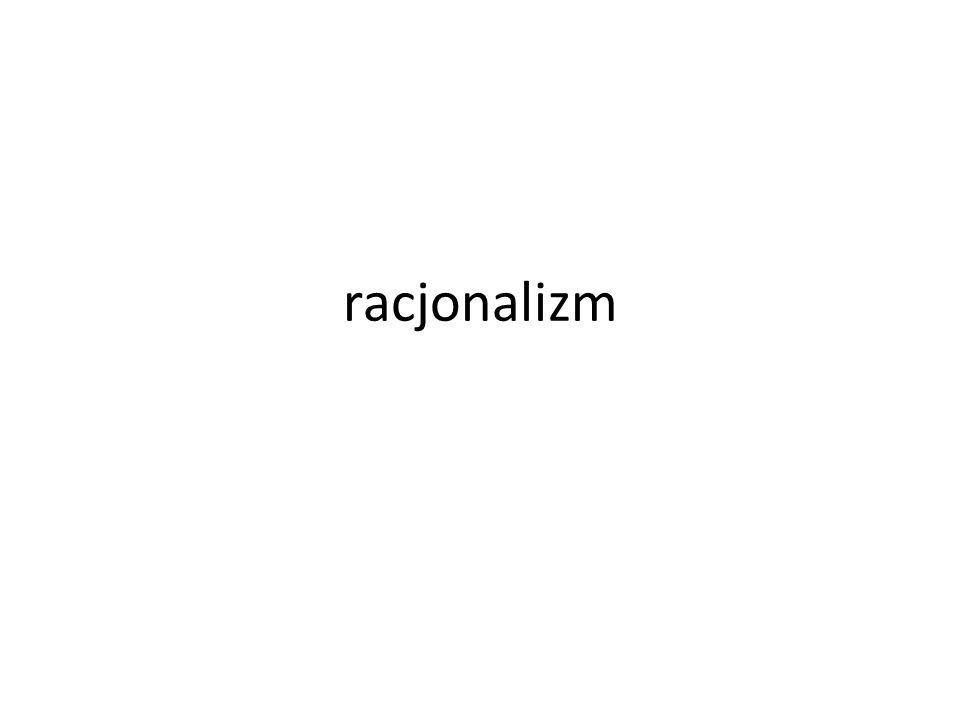 racjonalizm
