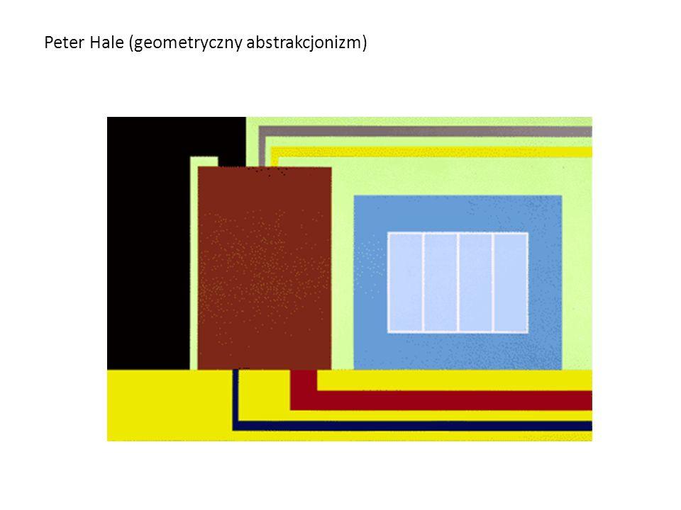 Peter Hale (geometryczny abstrakcjonizm)