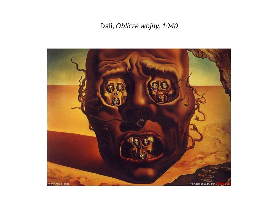 Dali, Oblicze wojny, 1940