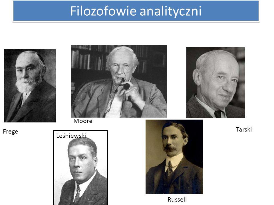 Filozofowie analityczni