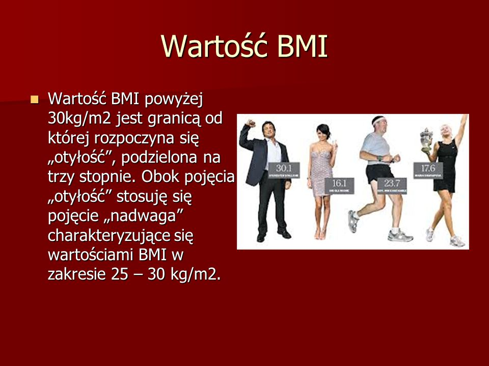 Wartość BMI