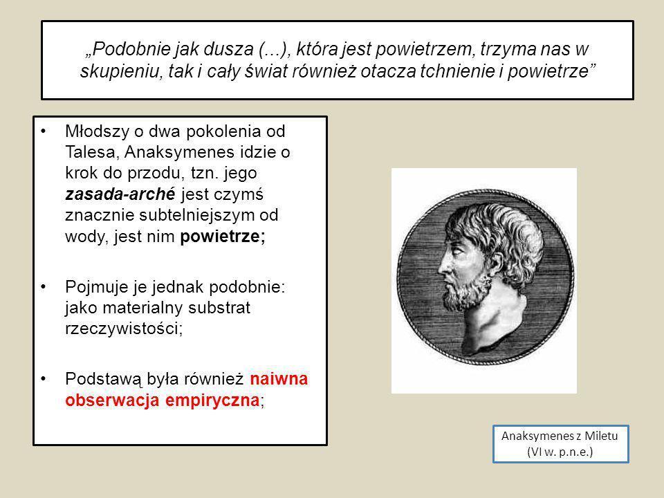 Anaksymenes z Miletu (VI w. p.n.e.)