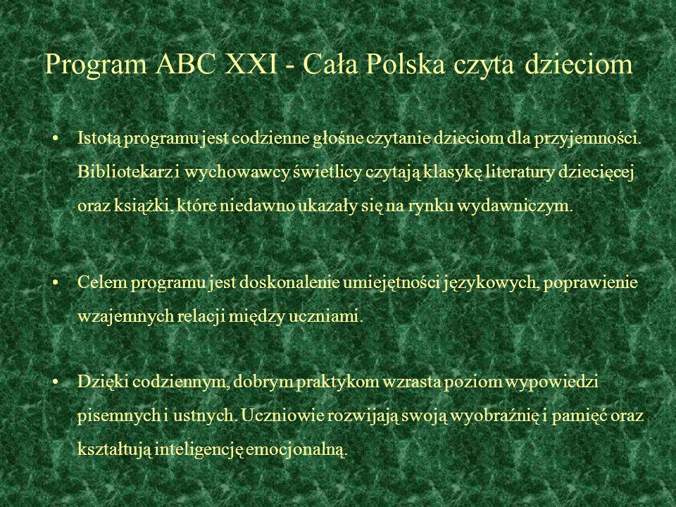 Program ABC XXI - Cała Polska czyta dzieciom