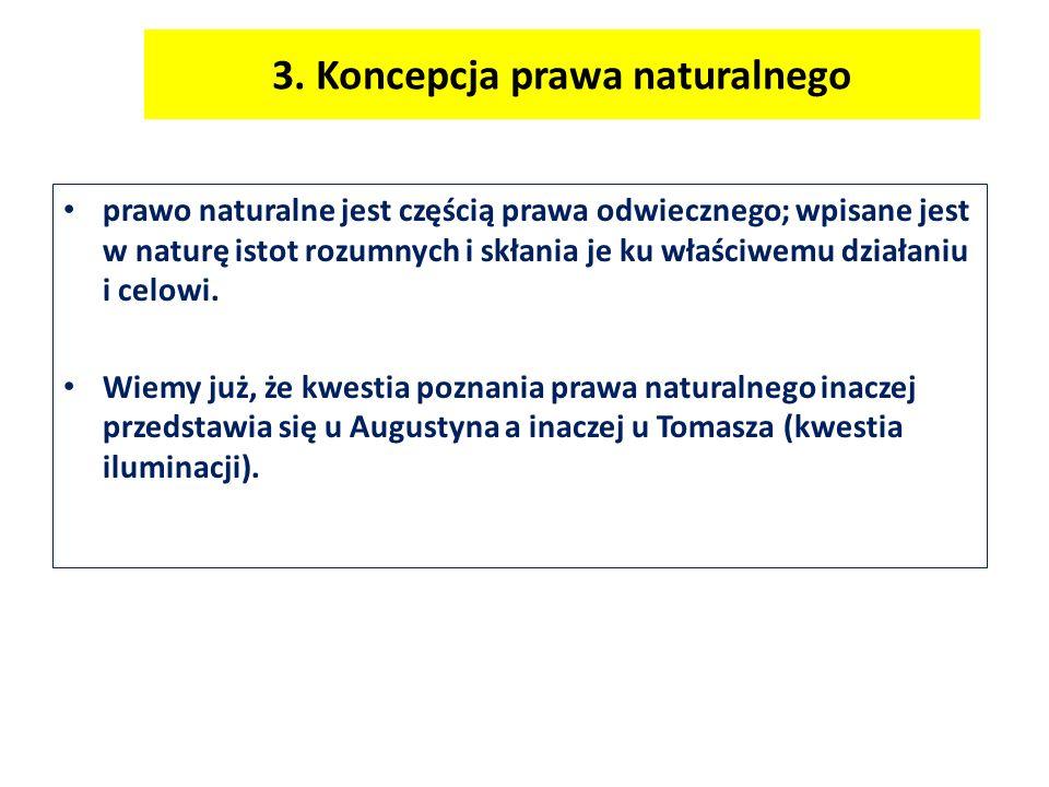 3. Koncepcja prawa naturalnego