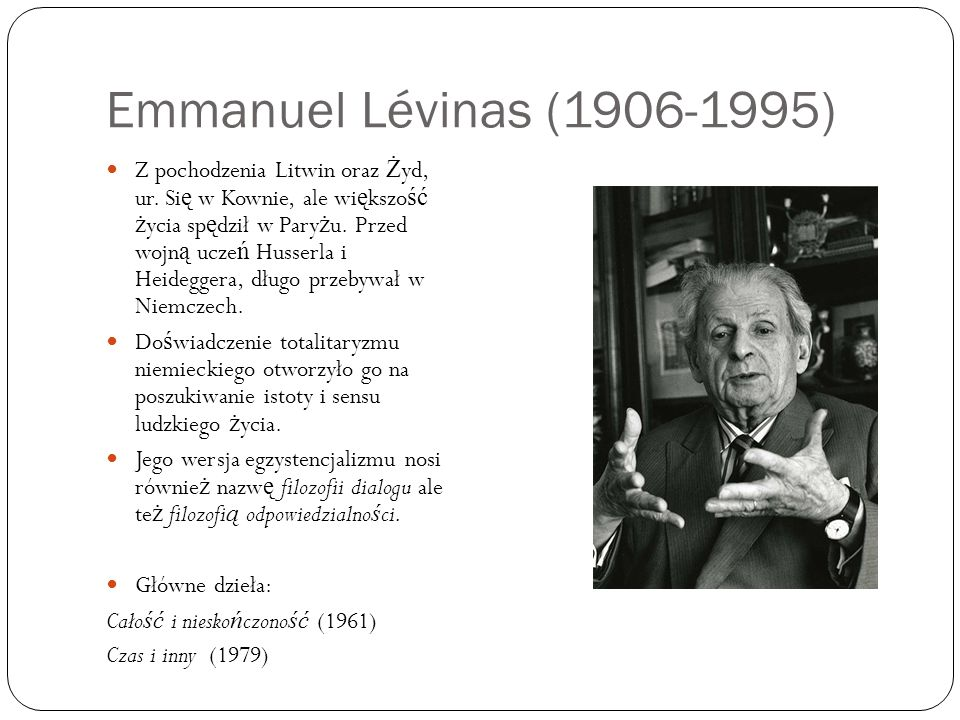 Emmanuel Lévinas (1906-1995)