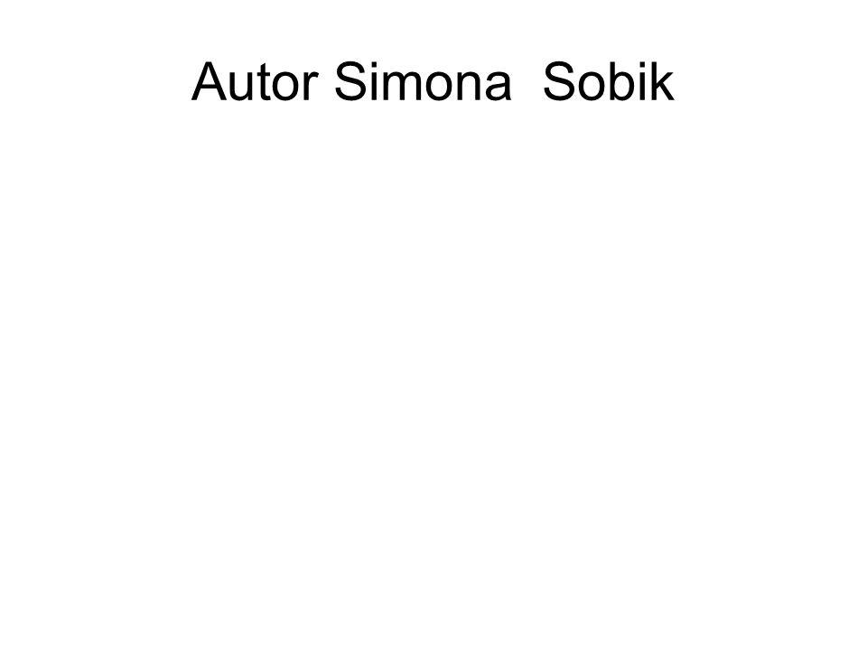 Autor Simona Sobik