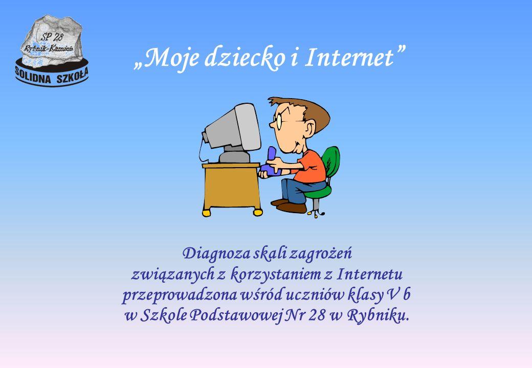 """""""Moje dziecko i Internet"""