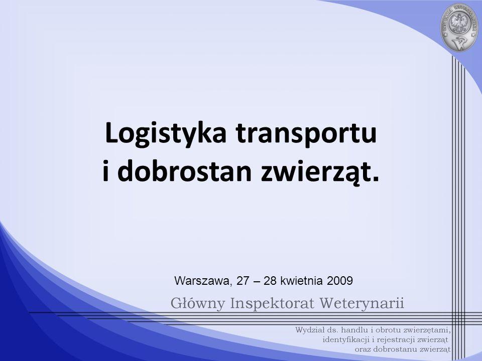 Logistyka transportu i dobrostan zwierząt.