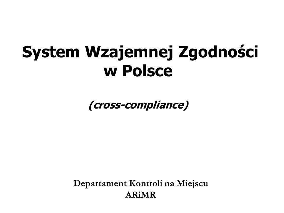 System Wzajemnej Zgodności w Polsce (cross-compliance)