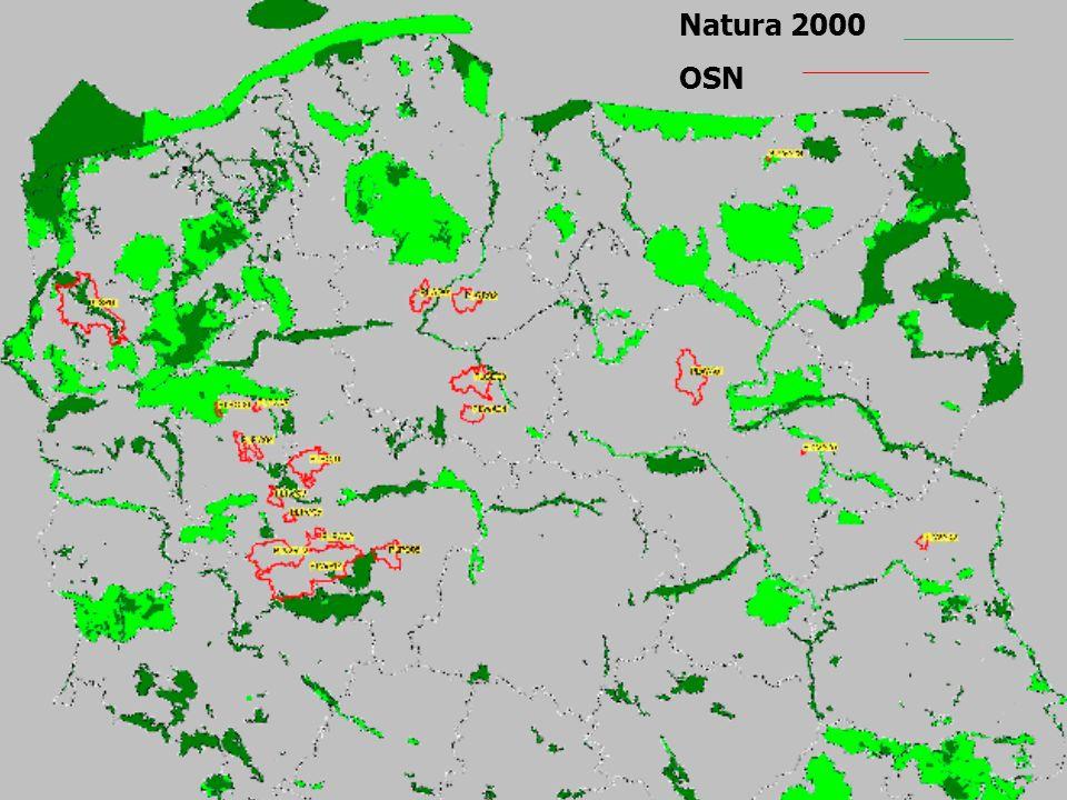 Natura 2000 OSN OSN NATURA 2000