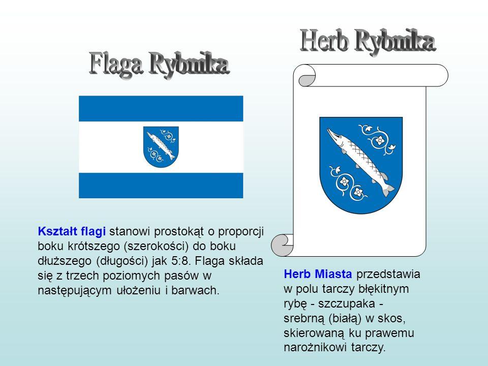Herb Rybnika Flaga Rybnika