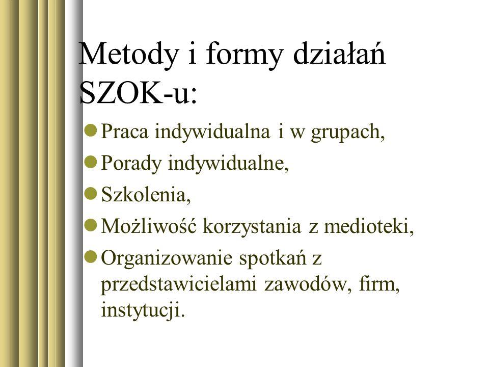 Metody i formy działań SZOK-u: