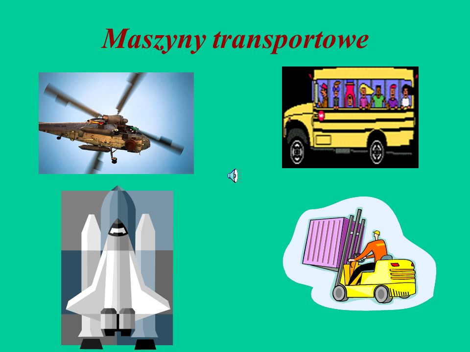 Maszyny transportowe