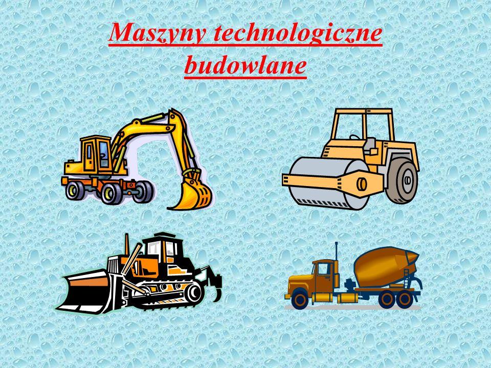 Maszyny technologiczne budowlane