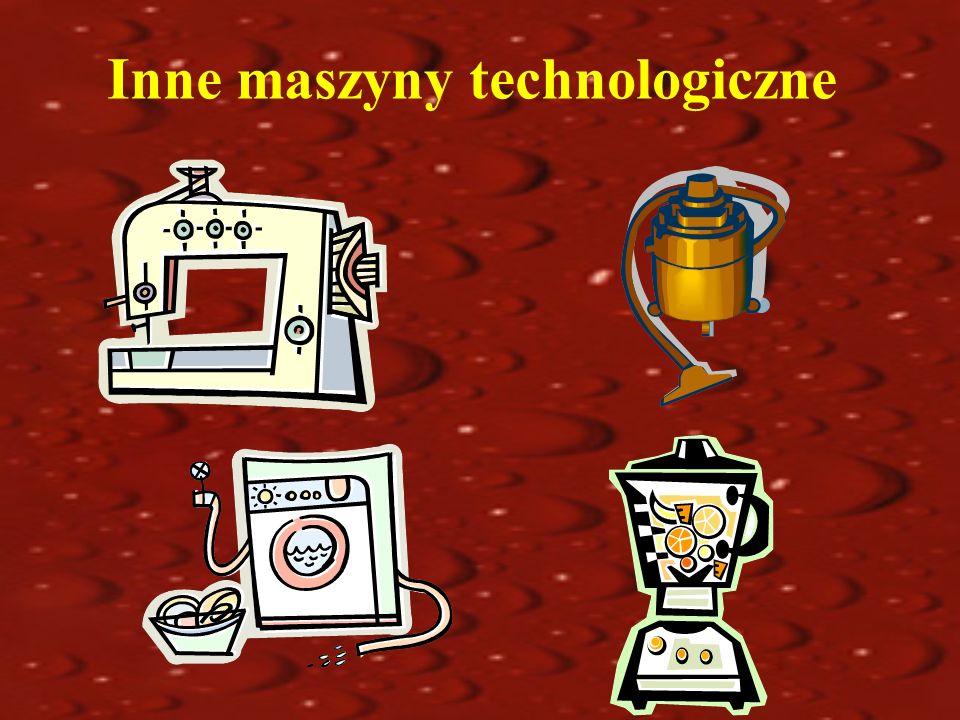 Inne maszyny technologiczne