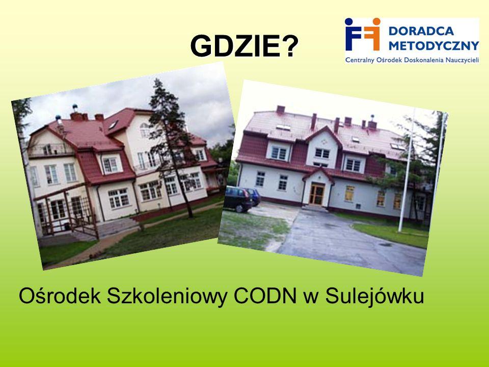 GDZIE Ośrodek Szkoleniowy CODN w Sulejówku