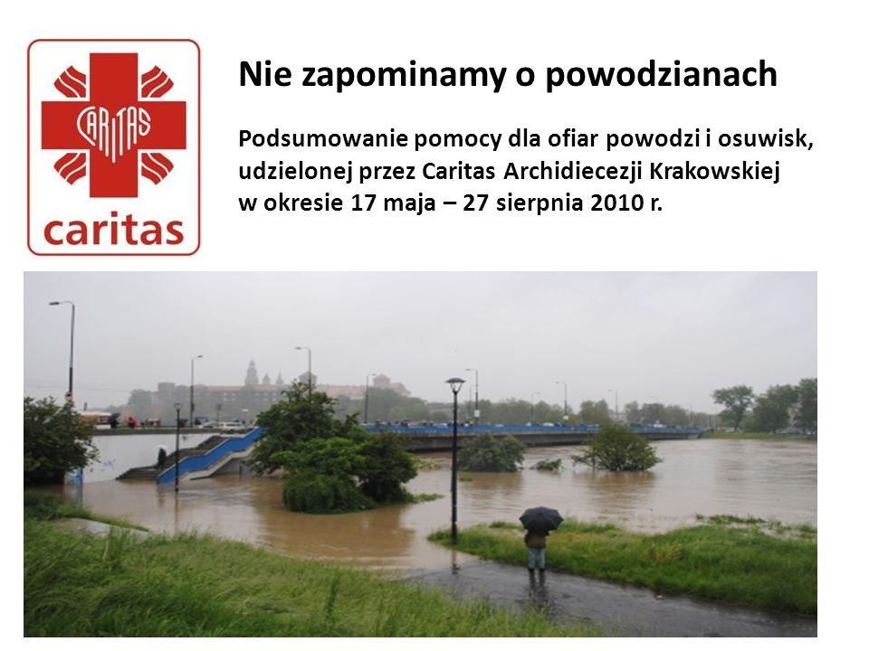 Nie zapominamy o powodzianach