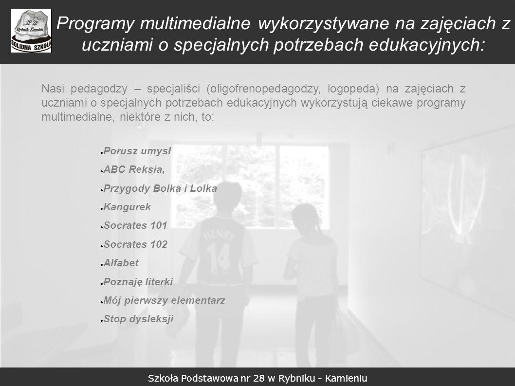 Szkoła Podstawowa nr 28 w Rybniku - Kamieniu