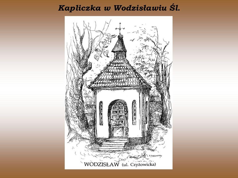 Kapliczka w Wodzisławiu Śl.