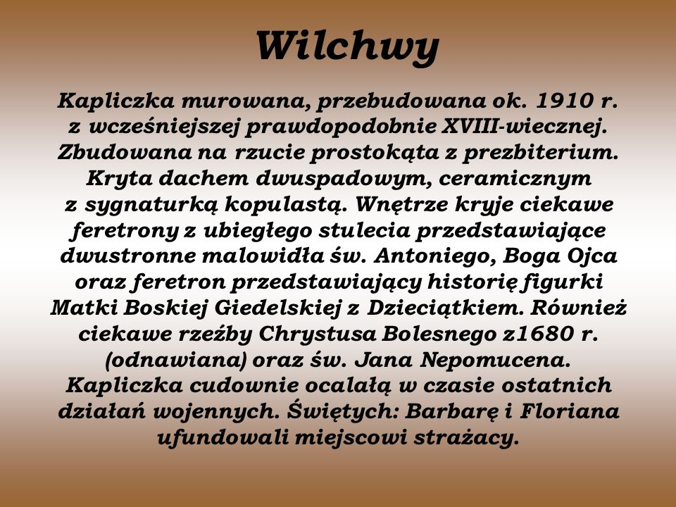 Wilchwy