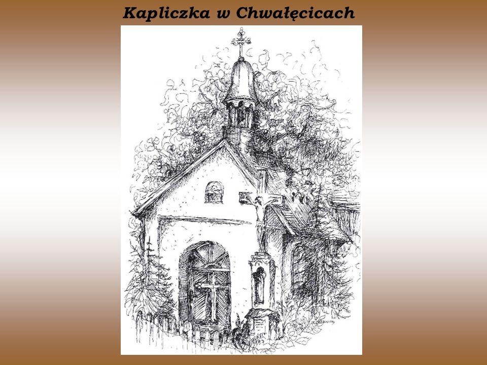 Kapliczka w Chwałęcicach