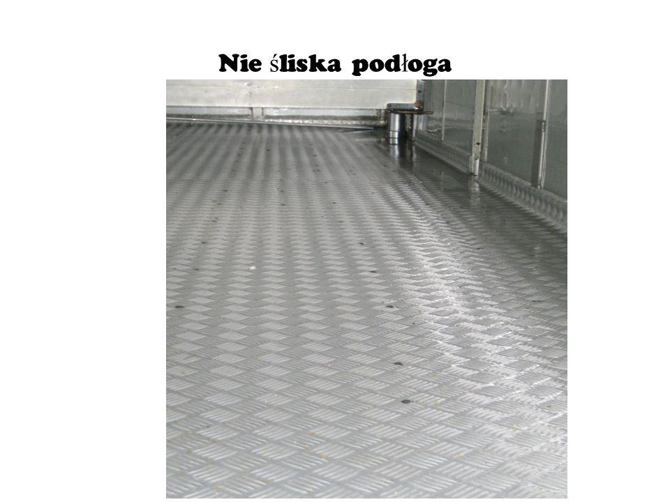 Nie śliska podłoga
