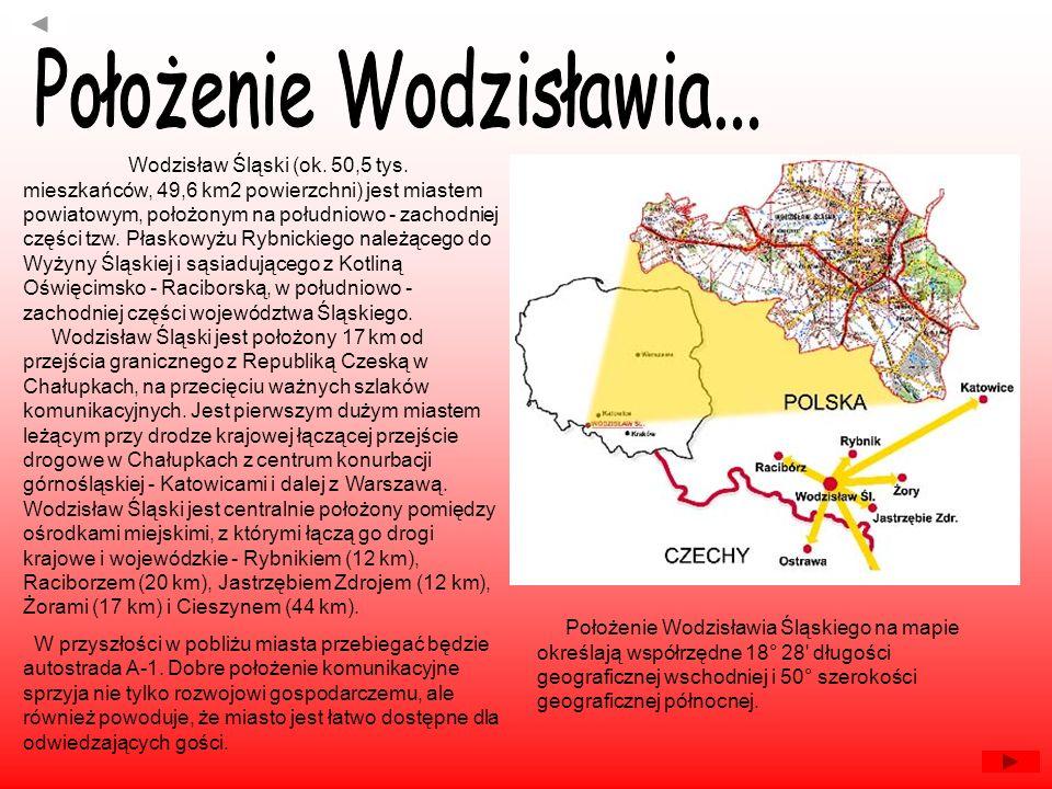Położenie Wodzisławia...