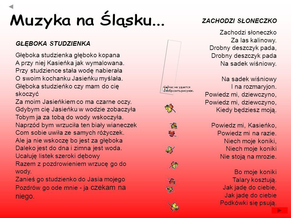 Muzyka na Śląsku... ZACHODZI SŁONECZKO