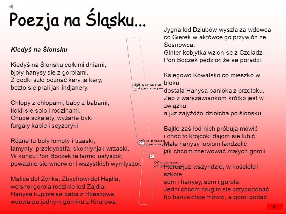 Poezja na Śląsku...