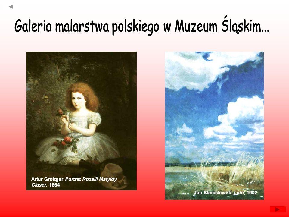 Galeria malarstwa polskiego w Muzeum Śląskim...