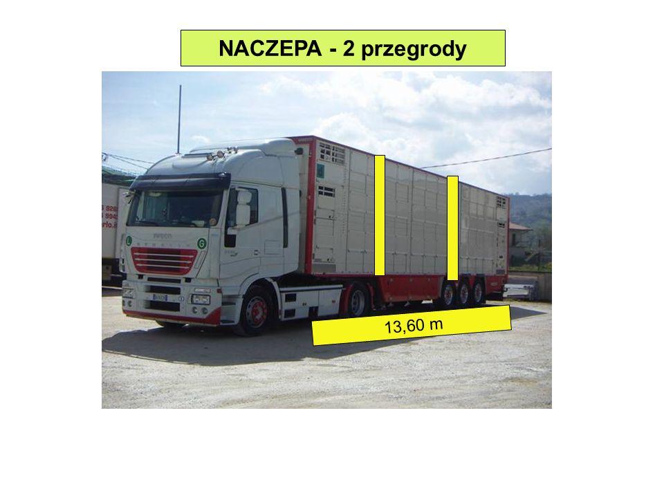 NACZEPA - 2 przegrody 13,60 m