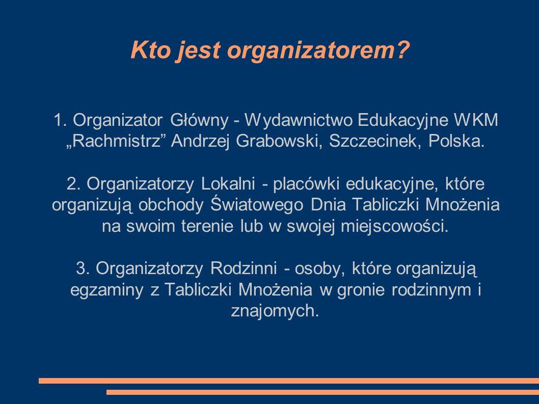 Kto jest organizatorem