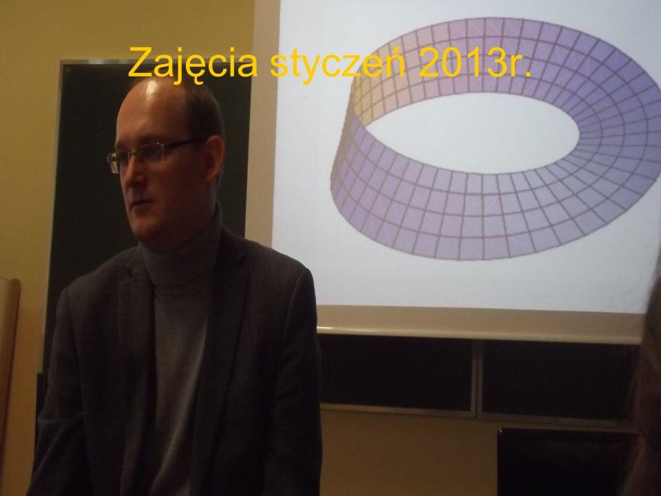 Zajęcia styczeń 2013r.