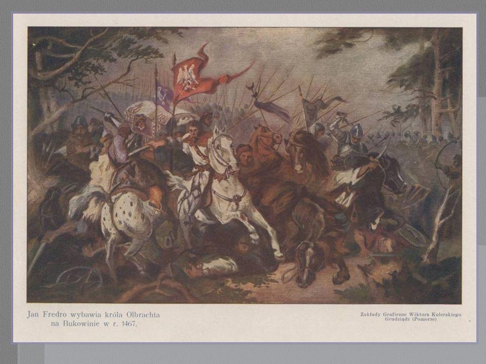 JAN I. OLBRACMT. Fredro ocala życie Króla Olbrachta na Bukowinie.