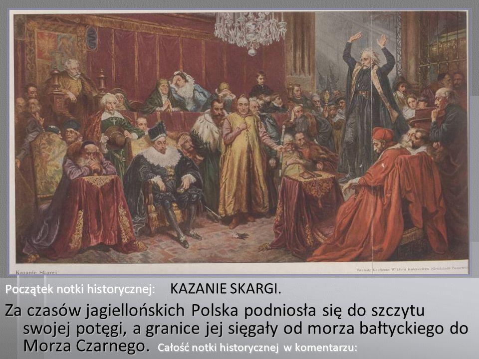 KAZANIE SKARGI.