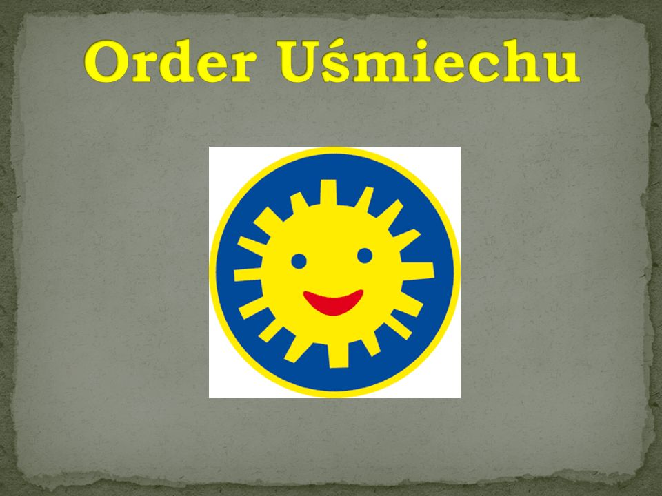 Order Uśmiechu