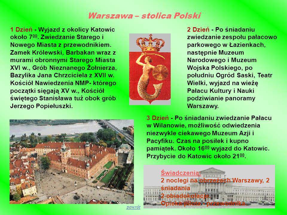 Warszawa – stolica Polski