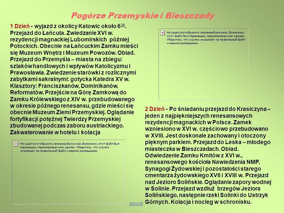 Pogórze Przemyskie i Bieszczady