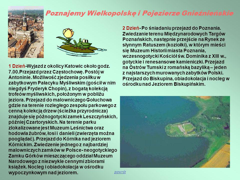 Poznajemy Wielkopolskę i Pojezierze Gnieźnieńskie
