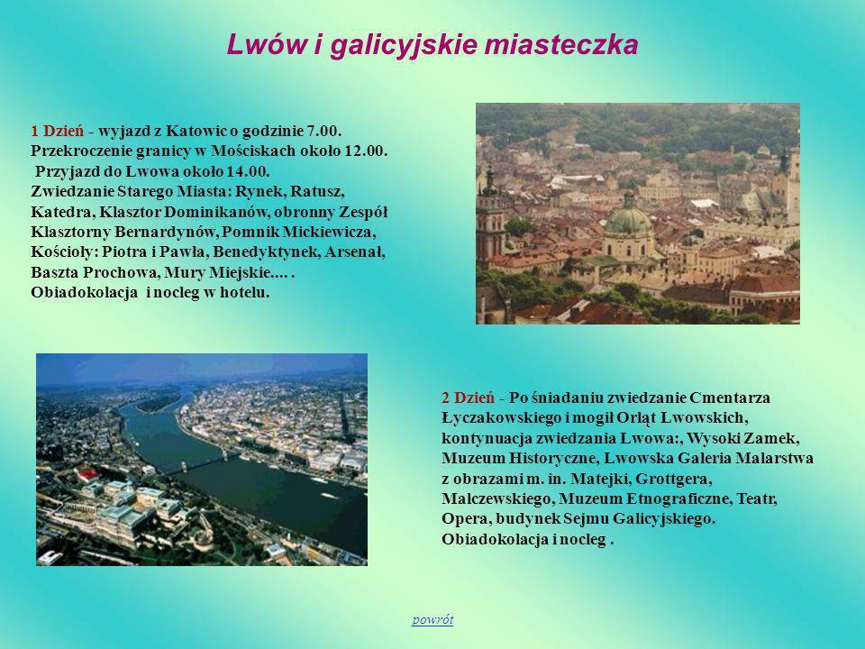 Lwów i galicyjskie miasteczka