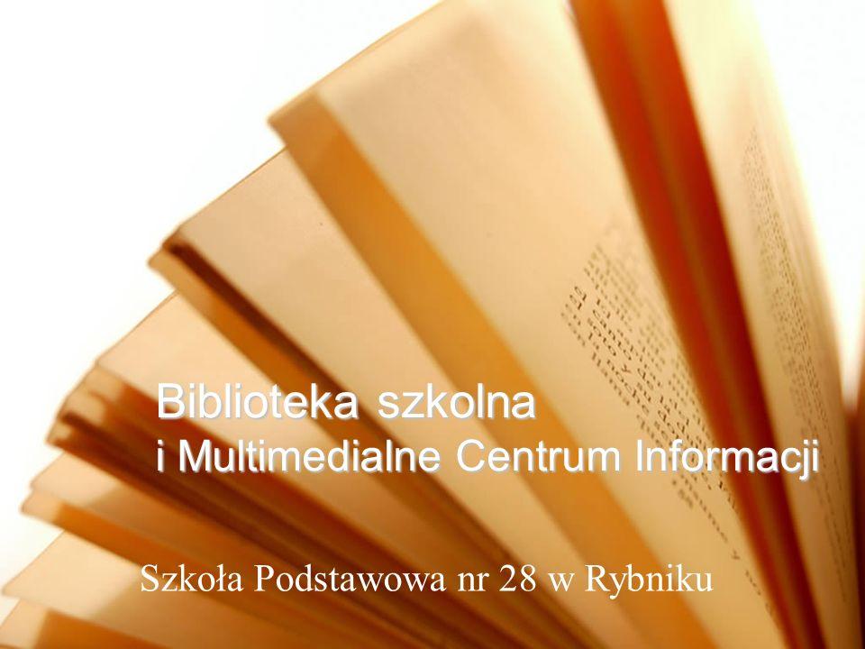 Biblioteka szkolna i Multimedialne Centrum Informacji