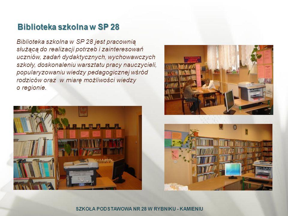 Biblioteka szkolna w SP 28