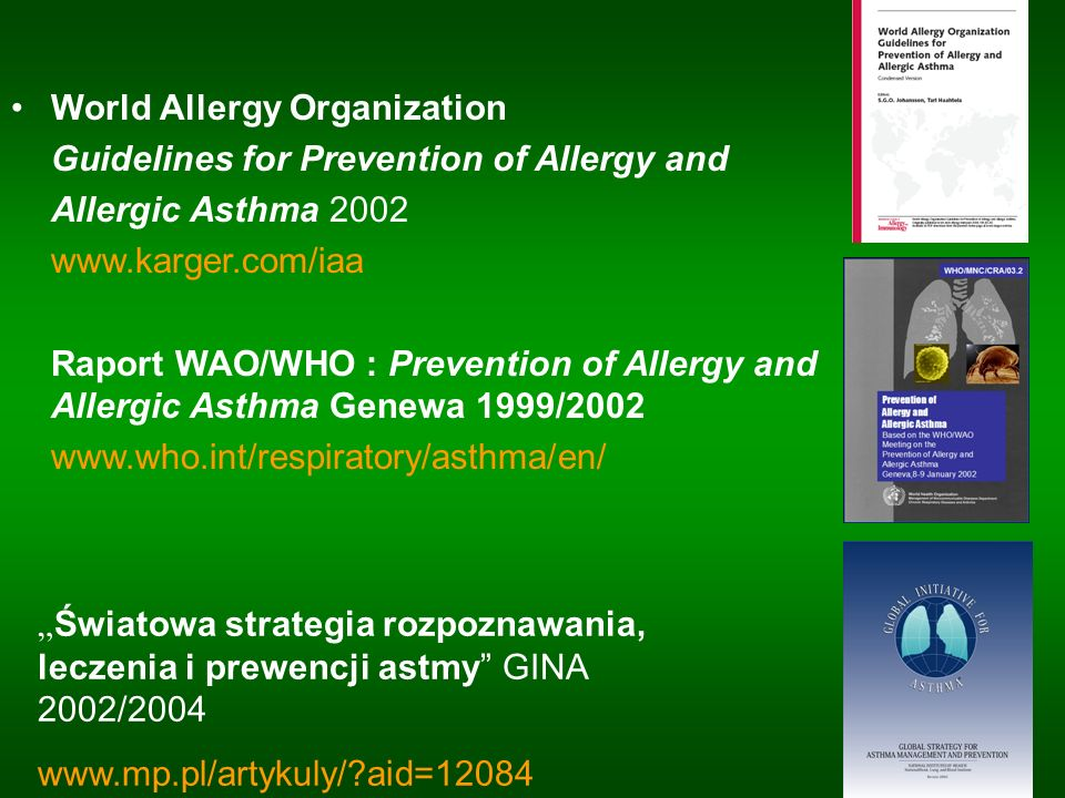 World Allergy Organization